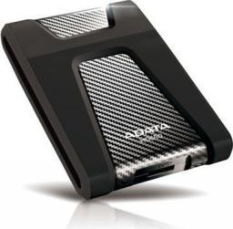 Dysk zewnętrzny ADATA HDD DashDrive Durable HD650 4 TB Czarny (AHD650-4TU31-CBK)
