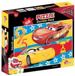 Lisciani Puzzle dwustronne 108el. Cars 3 (304-60740)