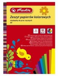 Herlitz Papier kolorowy A5/10 kartek