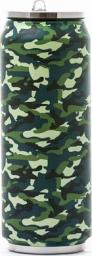 Yoko Design Kubek termiczny Isotherm tin can Camouflage 0.5L (1486-7945)