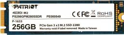 Dysk SSD Patriot Scorch 256GB M.2 PCIe NVMe (PS256GPM280SSDR)
