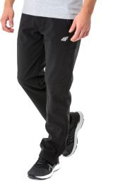 4f Spodnie softshell męskie H4L18-SPMT002 r. M