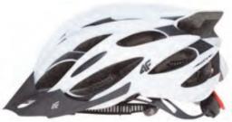 4f Kask rowerowy H4L18-KSR001 biały r. 58-61cm