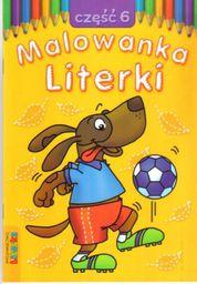 Malowanka - Literki cz. 6