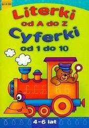 Literki A-Z, Cyferki 1-10 LITERKA - 11130