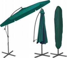 Furnide Składany Parasol Ogrodowy na wysięgniku bocznym - Zielony (143)