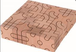 Goki Zabawa logiczna, układanka z klocków geometria (58754)