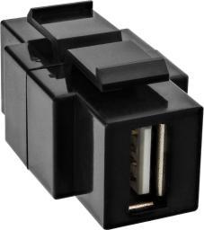 Adapter USB InLine USB 2.0 Czarny (76201T)