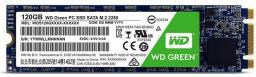 Dysk SSD Western Digital Green 120 GB M.2 2280 SATA III (WDS120G2G0B)