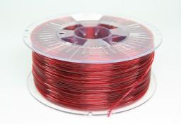 Spectrum Filament PETG 1.75mm TRANSPARENT RED 1kg