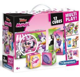 Clementoni Klocki, 12 Multiplay - Minnie Happy (41506)