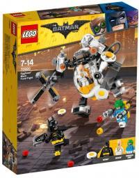 LEGO BATMAN Mech Eggheada i bitwa na jedzenie (LG70920)