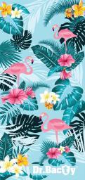 DRBACTY Ręcznik Tropical wielokolorowy 60x130 cm (DRC-L-TROPICAL)