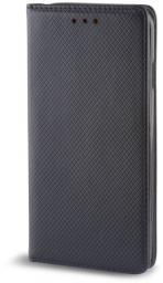 TelForceOne Pokrowiec Smart Magnet do Samsung A8 Plus 2018 czarny (GSM033306)