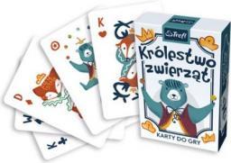 Trefl Karty do gry Królestwo zwierząt - (WIKR-1066382)