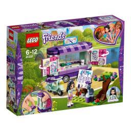 LEGO FRIENDS Stoisko z rysunkami Emmy (41332)