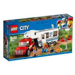LEGO CITY Pickup z przyczepą (60182)