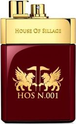 HOUSE OF SILLAGE  Hos N.001 Pour Homme EDP 75ml