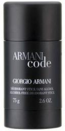 Giorgio Armani Code Dezodorant w sztyfcie 75ml