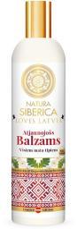 Natura Siberica Loves Latvia Balsam do włosów regeneracja 400 ml