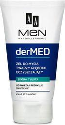 AA Cosmetics AA_Men Dr Med głęboko oczyszczający żel do mycia twarzy 150ml - 5900116036984