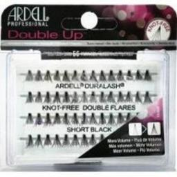 Ardell Double Up zestaw 96 kępek rzęs Short Black