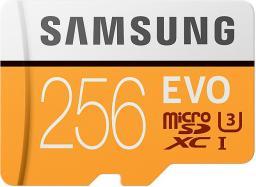 Karta MicroSD Samsung EVO MicroSDXC 256GB (MB-MP256GA/EU)