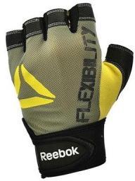 Reebok Rękawiczki fitness żółto-czarne r. XS (12331EN)