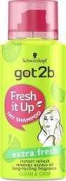Schwarzkopf Fresh It Up! suchy mini szampon do włosów Extra Fresh 100ml