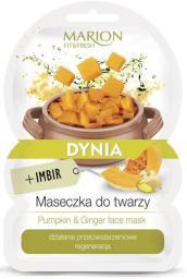 Marion  Fit & Fresh Maseczka do twarzy Dynia+Imbir  9g