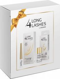 Long 4 lashes Zestaw prezentowy (serum do rzęs 3ml+serum do paznokci 10ml)