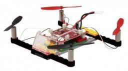Dron Double Eagle 021 do zbudowania z klocków RTF (2.4GHz, 4CH, żyroskop) (DE/021-BLK)
