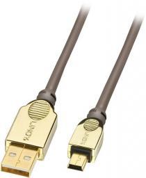 Kabel USB Lindy  Mini B, 0.5m   (37690)