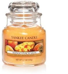 Yankee Candle Small Jar mała świeczka zapachowa Mango Peach Salsa 104g