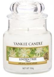 Yankee Candle Small Jar mała świeczka zapachowa Linden Tree 104g