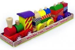 Hipo Pociąg drewniany  (610063)