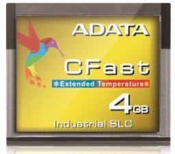 Karta ADATA CFast Card 4GB, Wide Temp, SLC, -40 to 85C (ISC3E-004GW)