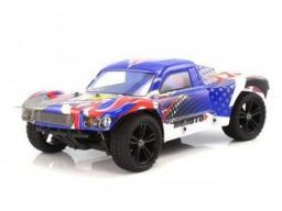 Himoto Samochód Elektryczny Spatha 1:10 2.4GHz 4x4 RTR - Niebieski