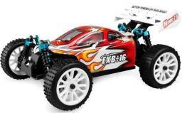 Himoto EXB-16 Buggy 1:16 4x4 2.4GHz RTR (HSP Troian) Czerwony (HI4185-18502)