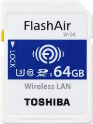 Karta pamięci Toshiba FlashAir 64GB (THN-NW04W0640E6)