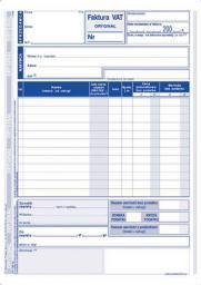 MICHALCZYK I PROKOP Faktura 1ST VAT A5P 2SKŁ 130-3-nowa (130-3E)