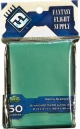 Fantasy Flight Games Standard Card Game Sleeves - Green (Zielone) 50