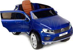 BABYMAXI Pojazd akumulatorowy na licencji VW Touareg niebieski