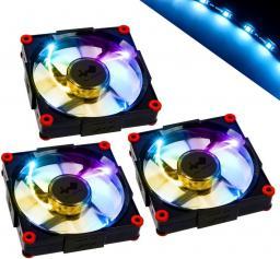 IN-WIN Wentylator   3x 120mm, Aurora RGB LED