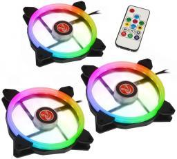 Raijintek IRIS 14 Triple Pack Rainbow RGB (0R400050)