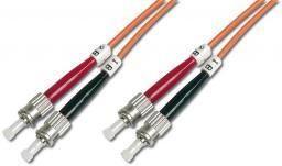 Digitus Patchcord światłowodowy  duplex MM 50/125 OM2 ST-ST, 3m (DK-2511-03)