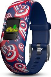 Smartband Garmin Vivofit jr. 2 Marvel (Captain America) Granatowy