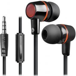 Słuchawki Defender Defender PULSE 428 douszne 4-pin czarno-czerwone (63428)