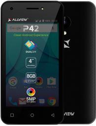 Smartfon AllView P42 8GB Czarny