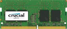 Pamięć do laptopa Crucial  SO-DIMM DDR4 4GB, 2400MHz, CL17 (CT4G4SFS624A)